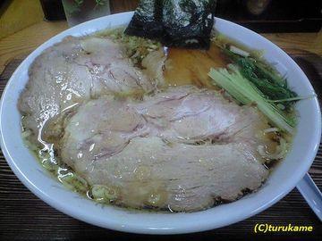 軍鶏ラーメン美幸 チャーシューメンと煮玉子