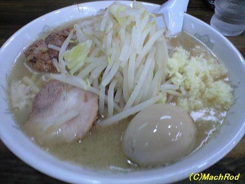 G麺烈伝 地雷屋 ミニ豚イチロー味玉