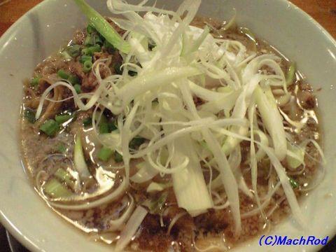 虹の麺 チャーシュー麺