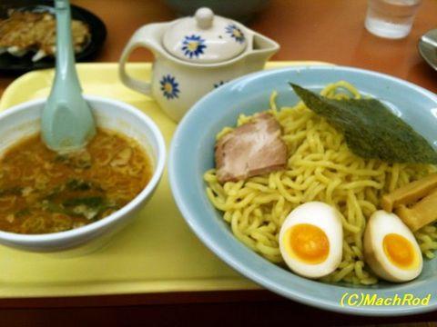 山岡家壬生店 辛味噌つけ麺