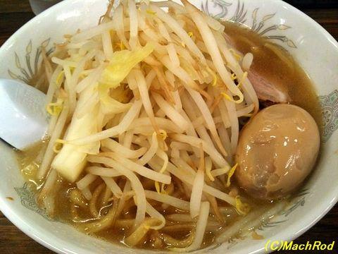 G麺烈伝 地雷屋 ミニ豚イチロー&味玉