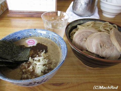 中華蕎麦サンジ 特製つけ蕎麦