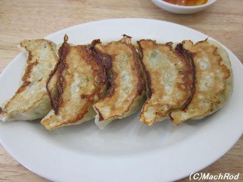 麺処にっ田屋 焼き餃子